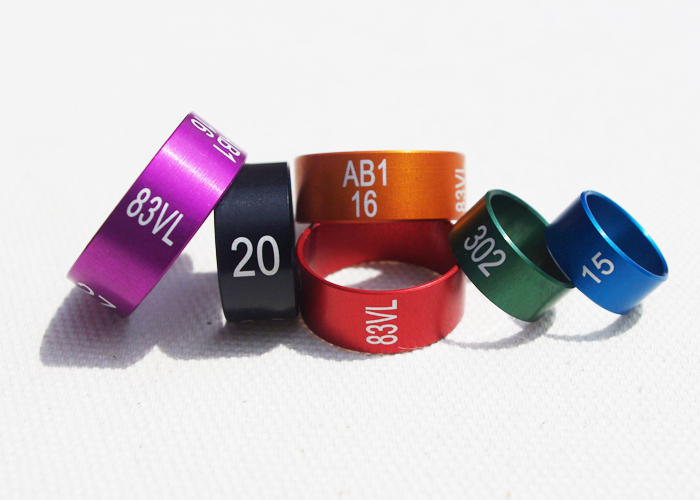 SPECIAL COLOURED ALUMINIUM RINGS